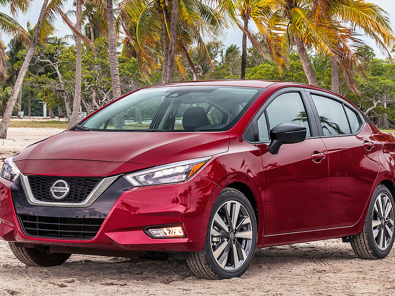 Nissan Versa adds power, safety gear for 2020
