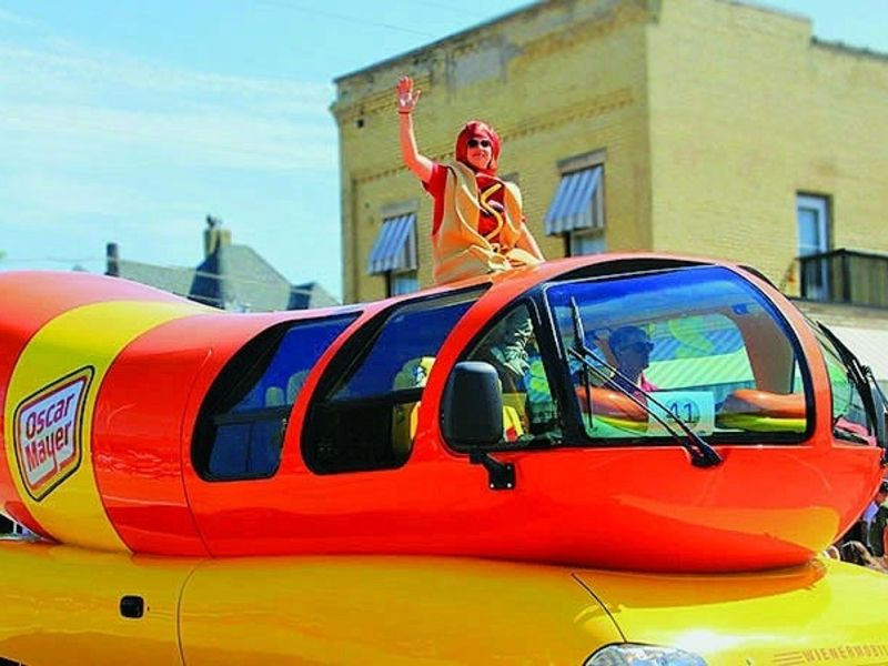 Oscar Mayer's Wienermobile is on the road again
