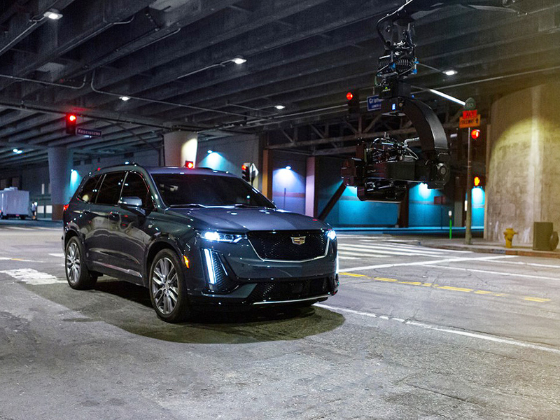Cadillac ad labels 3-row XT6 as 'crew ready'