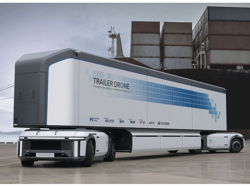 Hyundai launches hydrogen blitz with trucks, sports car, drones and more thumbnail