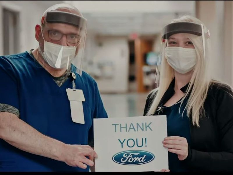 Ford launches ad campaign celebrating workers, importance to economy