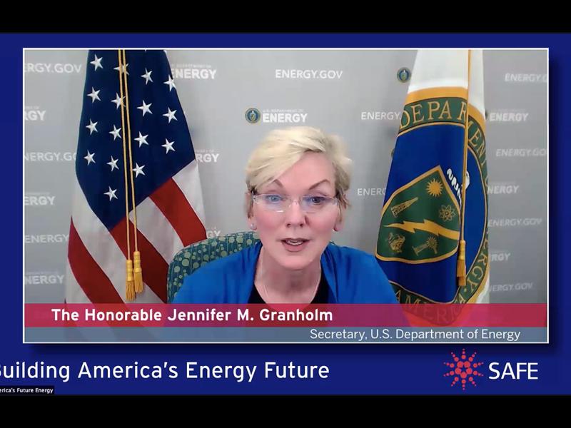 Granholm says Energy Department to 'double down' on efforts to speed EV adoption thumbnail