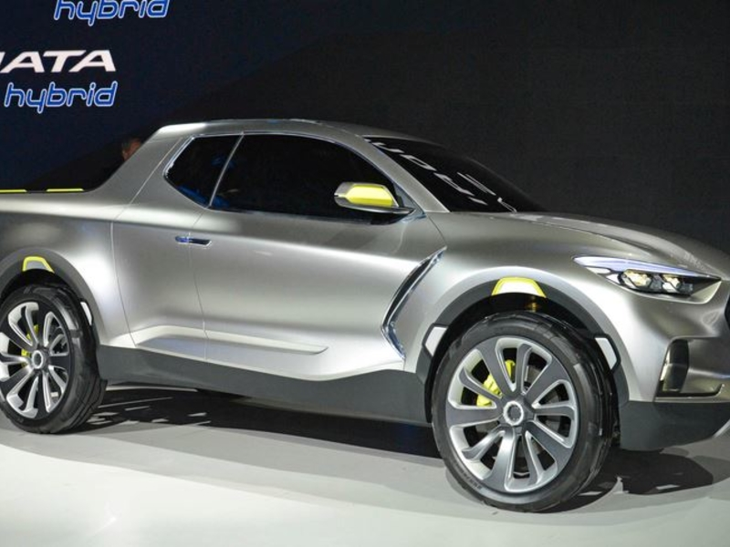 Pickup Truck Racks >> Hyundai Motor prepared to unveil long-awaited U.S. pickup