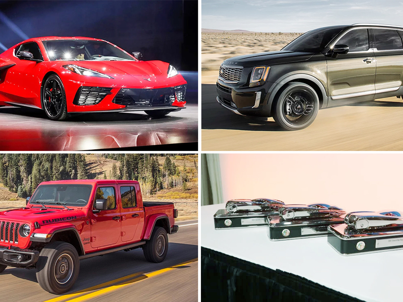 Chevrolet Corvette, Jeep Gladiator, Kia Telluride win North American car, truck, utility awards
