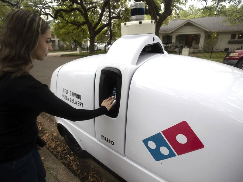 Domino's, Nuro to start robot pizza delivery in Houston thumbnail
