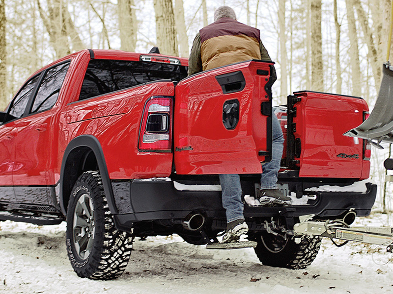 Ram Introduces Split Folding Tailgate