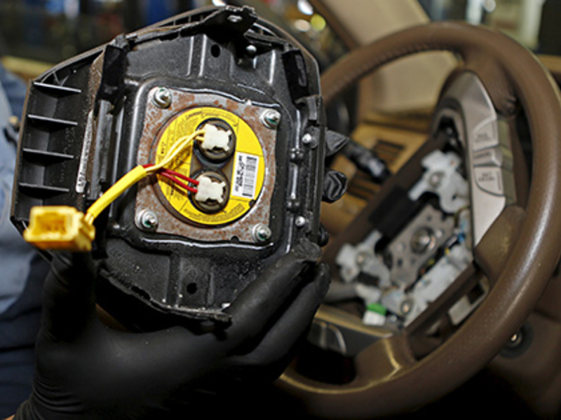Honda, Acura will recall 1 2M vehicles in N A  with Takata airbags