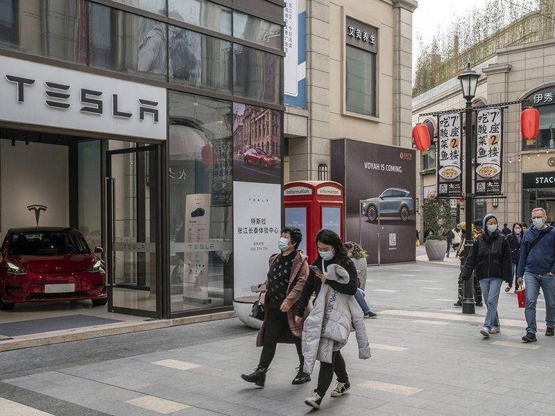 Tesla says data collected in China is stored there thumbnail