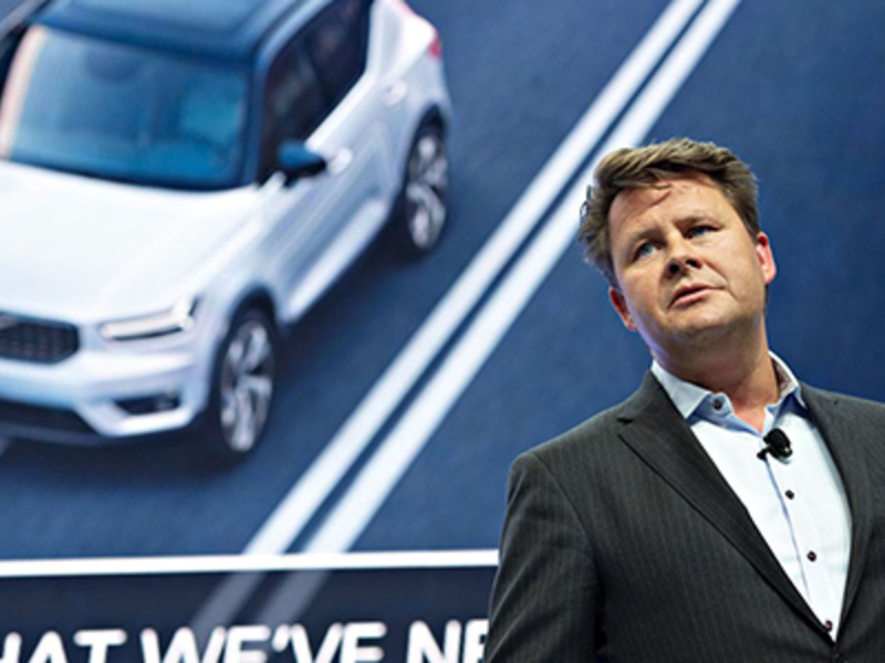 Amazon may come after auto industry, Volvo CEO warns dealers