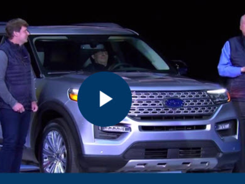 Ford Explorer Gains Space In Major Rwd Redesign