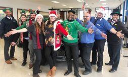 Holiday Spirit Day at Bergstrom Honda/Nissan of Oshkosh