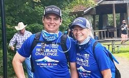 Marketing Director Carrie Casebeer and Inventory Photo Manager Darrian Quitevis completed the 26.3-mile Trailblaze Challenge sponsored by Capitol Subaru of Salem to raise money for the Make-A-Wish Foundation.
