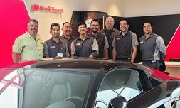 DCH Audi Oxnard's technicians