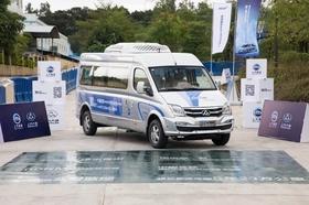 SAIC fuel cell van