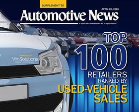 Top 100 Retailers Ranked By Used-Vehicle Sales -- 2020