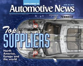 Top auto suppliers