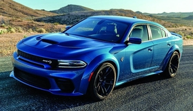 Last year, the Dodge Charger sedan had its best full year for sales since 2013.