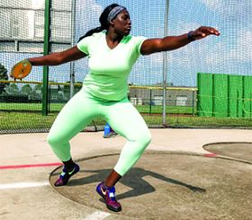 Onyekwere: No. 16 discus thrower in the world