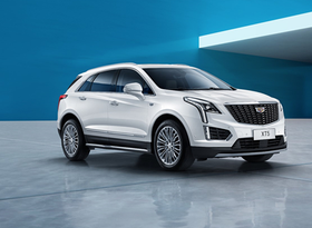 A Cadillac XT5 fitted with the 48-volt system