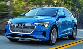 The e-tron, Audi's first battery electric vehicle