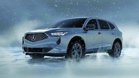 Leaked image of the Acura MDX