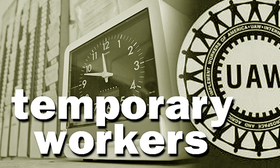 Temporary workers UAW 2019