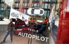 "In a press release Thursday, the center accused Tesla of ""making their owners believe that a Tesla with 'Autopilot' is an autonomous vehicle capable of self-driving."""