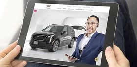 Cadillac online experience