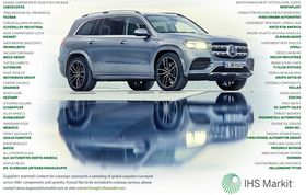 Suppliers to the 2020 Mercedes-Benz GLS