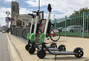 Motor City will study scooter use patterns, possibly set regulatory framework