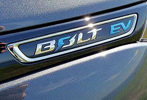 Chevy Bolt badge