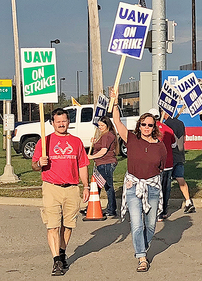 GM strike in Flint
