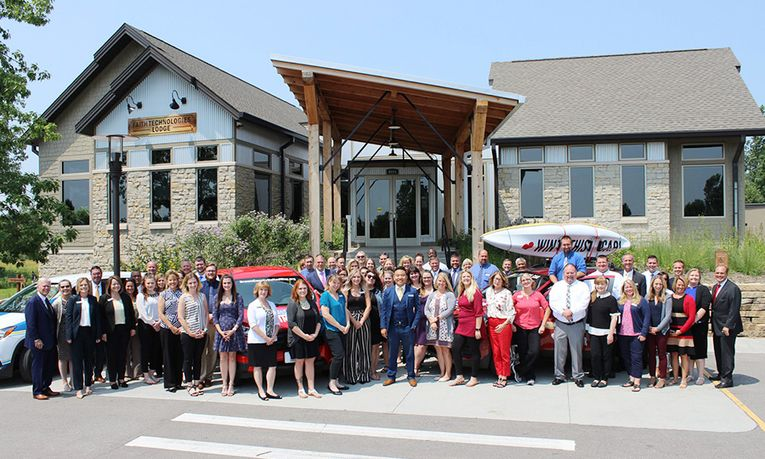 Bergstrom Mini of the Fox Valley's United Way Campaign kickoff and celebration
