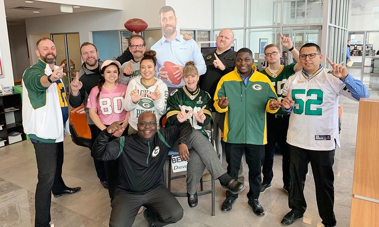 Green Bay Packers Spirit Day at Bergstrom Subaru of Oshkosh