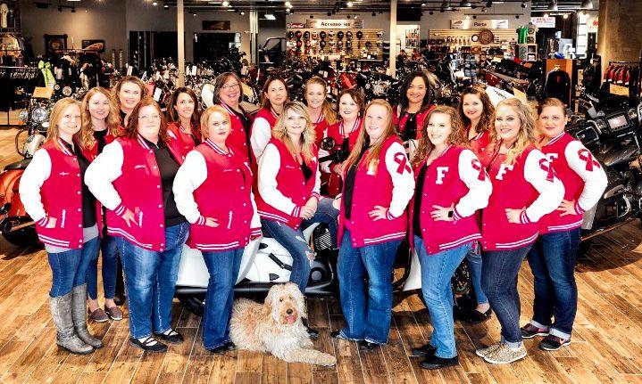 The Pink Ladies volunteer group