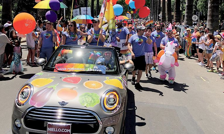 Niello Mini supports the annual Sacramento Pride weeklong celebration in partnership with Kaiser Permanente.