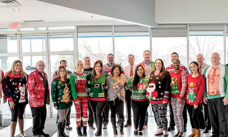 Sunrise Chevrolet's Ugly Sweater Day
