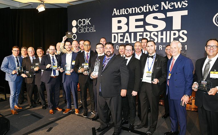 Winners: 2021 Automotive News Best Dealerships to Work For