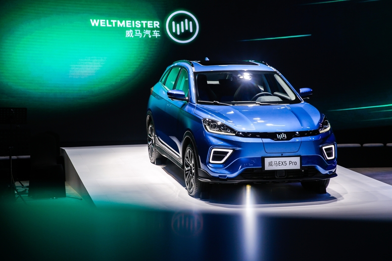WM Motors electric crossover