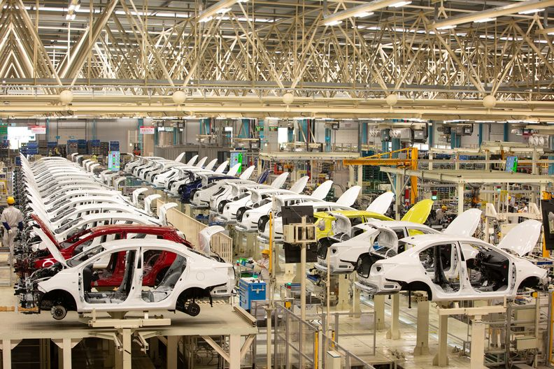 Toyota's joint venture with Guangzhou Motor Co.