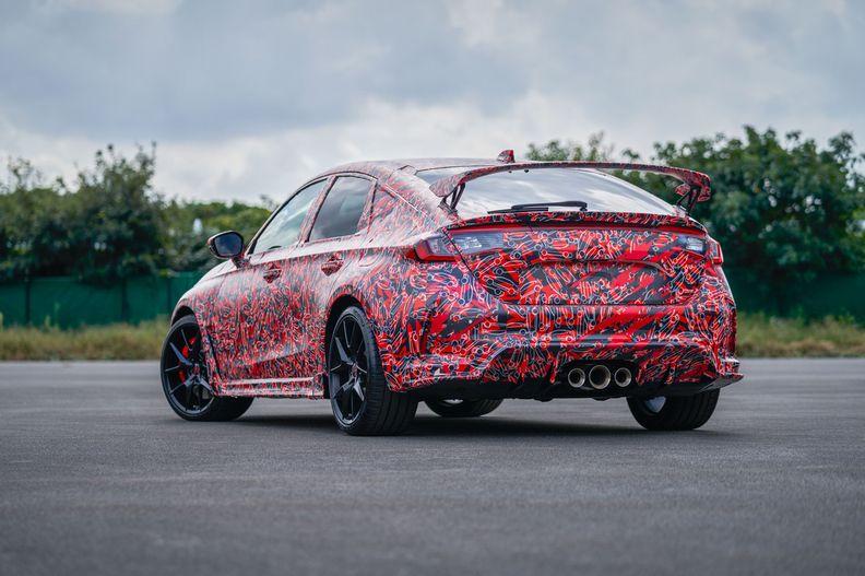 2023 Honda Civic Type R prototype