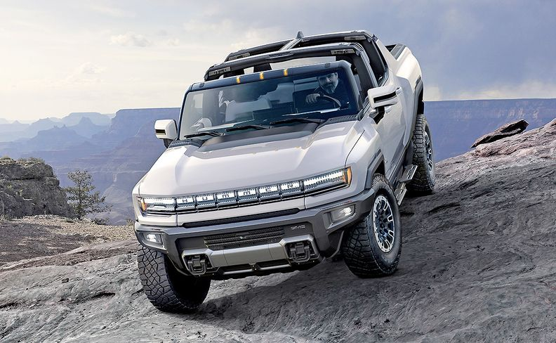 GMC's Hummer electric supertruck is set to go on sale this fall.