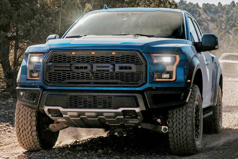 Đầu xe Ford Ranger Raptor 2019