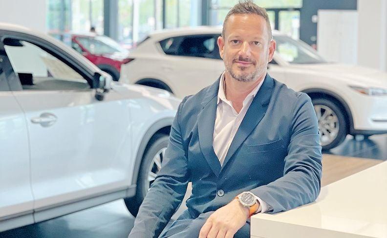 Morgan Automotive CEO Brett Morgan.