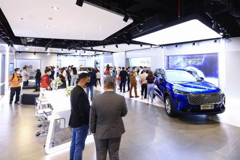 Great Wall Motor Co. opened an experience center in Bangkok on May 28.
