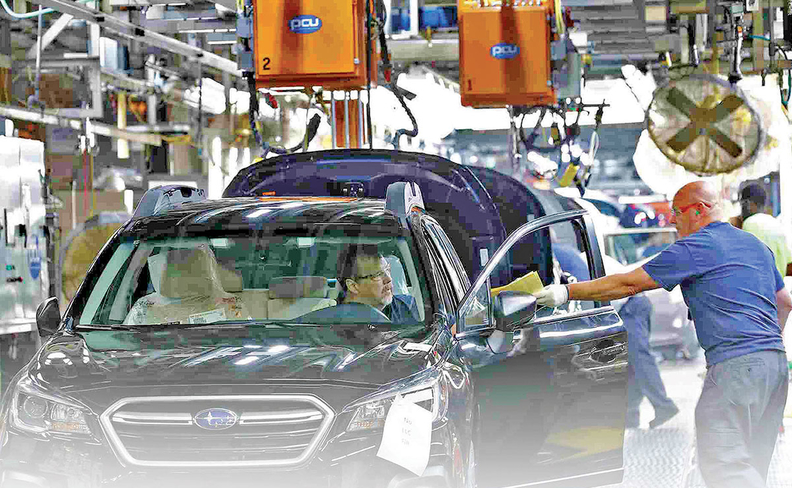 Subaru S Plant In Indiana Produces The Outback Legacy Impreza And Ascent Which Had Its Launch Marred By A Recall U Dealers Have Registered