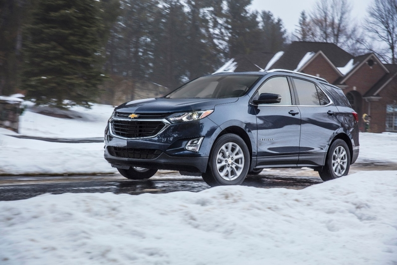 Equinox sales have remained hot in the United States, gaining 11 percent in the first half of the year to 174,157 deliveries.