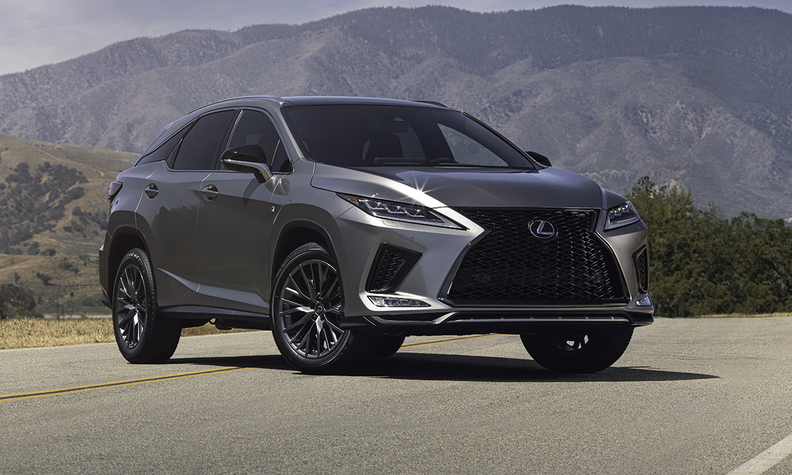 Refreshed 2020 Lexus RX to get brand's improved infotainment system