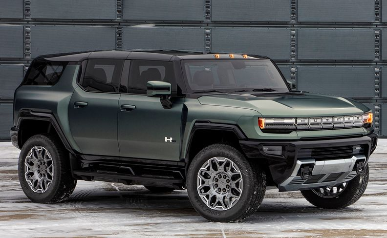 2024 GMC Hummer SUV Edition 1