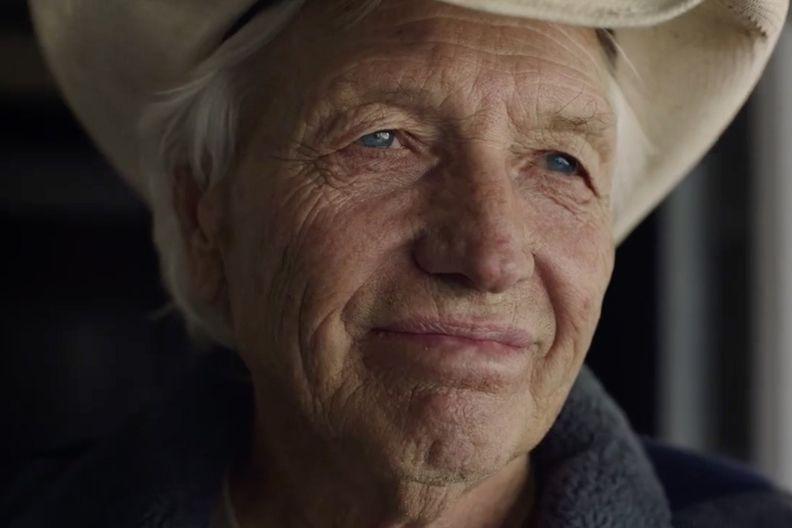 Still from Ford EV ad